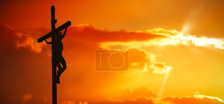 Photo for Jesus Christ on the Cross - Royalty Free Image