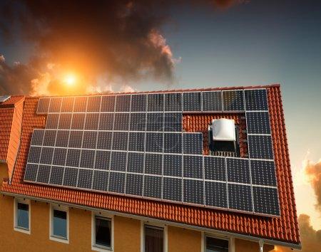 Experimental solar power