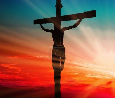 Foto de Sacrificio de sangre de Jesús - Imagen libre de derechos