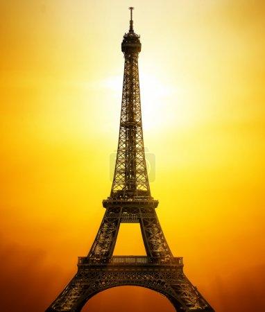 Sunny Eiffel Tower