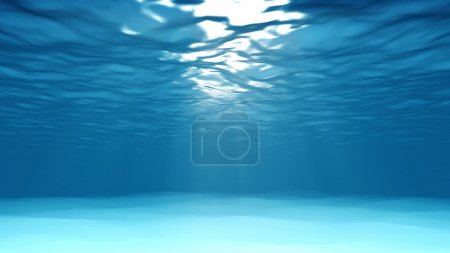 Photo for Light underwater - Royalty Free Image