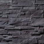 Texture of gray stone wall...