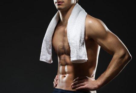 Sportsman's torso