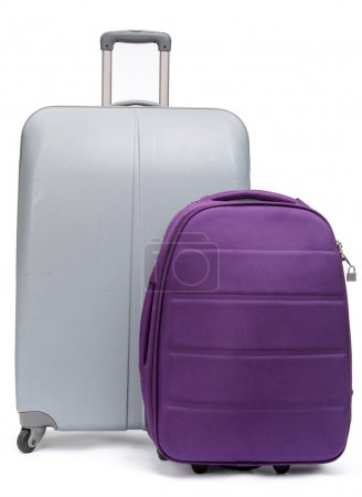 Two suitcases for traveling