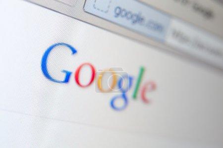 Google page screenshot