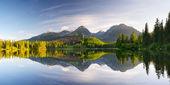Mountain lake in Tatra Mountains