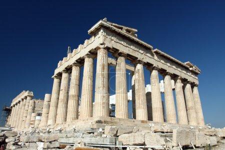 Photo for Parthenon in Acropolis, Athens, Greece - Royalty Free Image