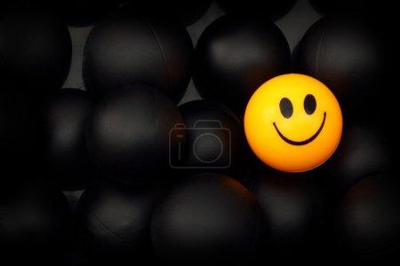 Photo pour Exception à la règle, le concept de l'état d'esprit positif - image libre de droit