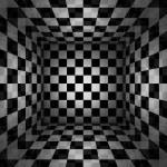 Checkered texture 3d background high resolution...