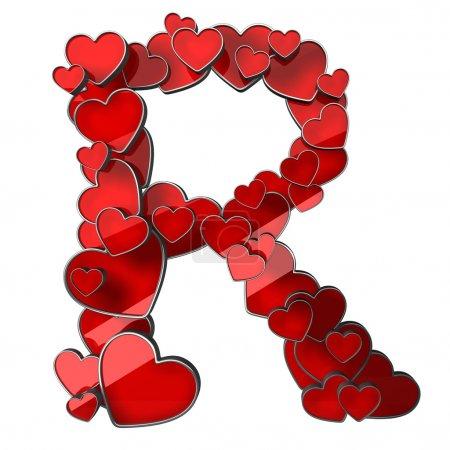 Alphabet der Herzen