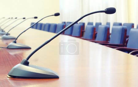 Photo pour Salle de conférence vide, début du concept de conférence - image libre de droit
