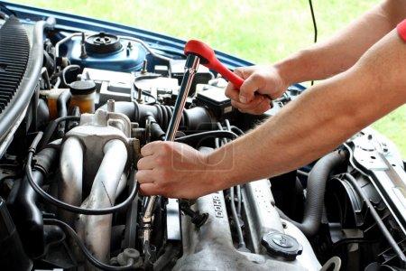 Car repairs process