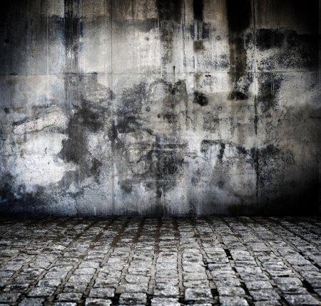 Foto de Vista de un fondo grunge - Imagen libre de derechos