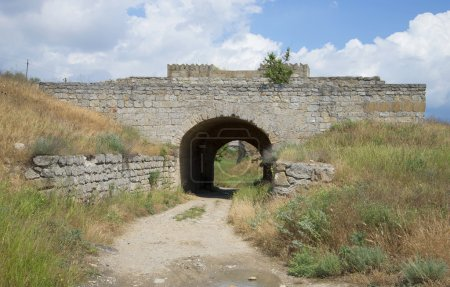 The gate of the fortress Eni-Kale. Kerch