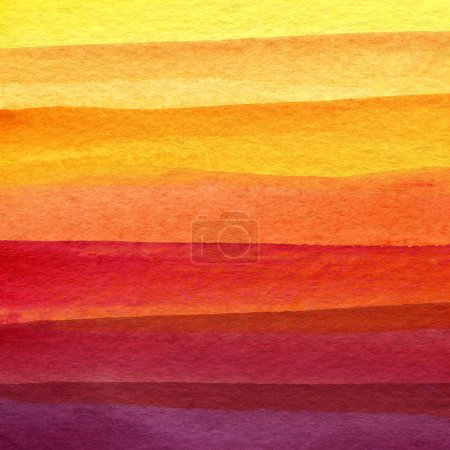 Photo for Abstract strip watercolor painted background - Royalty Free Image