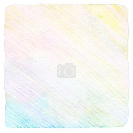 Photo for Abstract draw color pencil background - Royalty Free Image