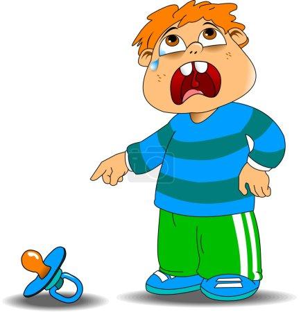 cranky kid