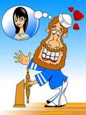 In love a sailor