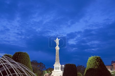 Photo for Ruse, Bulgaria - the Monument of Liberty was built around 1909 by the Italian sculptor Arnoldo Zocchi - Royalty Free Image