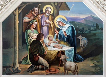 Photo for Nativity Scene - Royalty Free Image