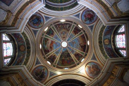 Dome of the The Church Stella Maris, mountain Karmel, Haifa, Israel