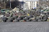 Květiny na barikády o Kyjev