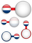 Vector - Netherlands Country Set of Banners