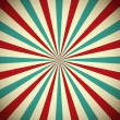 Retro abstract background with rays...