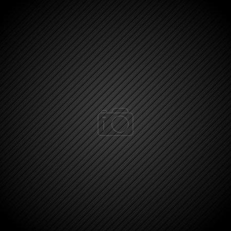 Illustration pour Fond sombre abstrait avec des rayures - image libre de droit