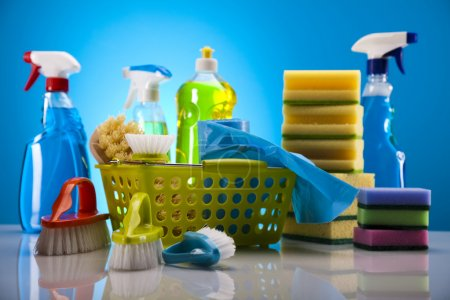 Photo for Group of assorted cleaning - Royalty Free Image
