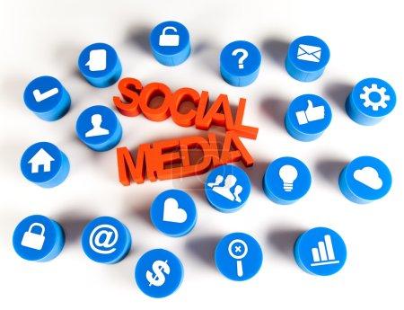 Thumbs up symbol, Social media