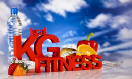 Photo for Healthy lifestyle concept, Diet and fitness - Royalty Free Image