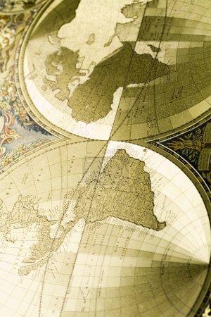 Photo pour Carte conceptuelle rétro - image libre de droit