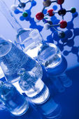 Molecular Model - atom & glass