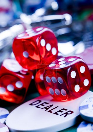 Dices and dealer