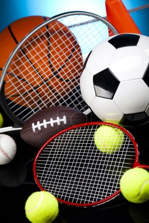 Photo for Sports Equipment - Royalty Free Image