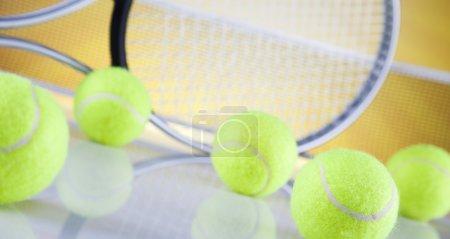 Tennis Ball & Racket
