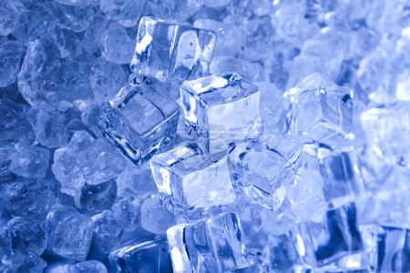 Ice cubes background...