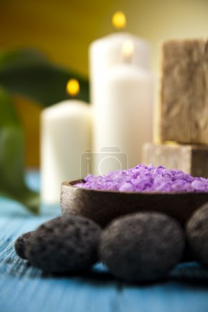 Spa still life background