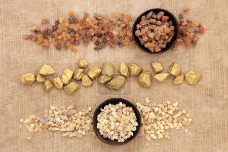 Gold Frankincense and Myrrh