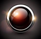 Elegant shiny button