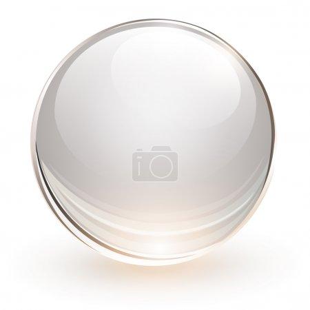 sphère de verre 3D