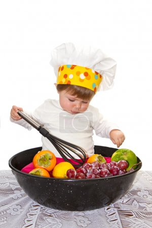 Photo for Baby chef - Royalty Free Image