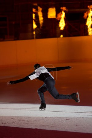 Man figure skater