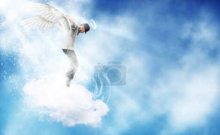 Dancing Angel in the sky