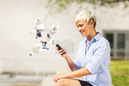 Conceptual photo of communication