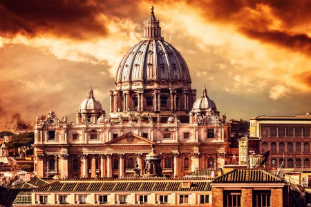 Vatican City by Sunset