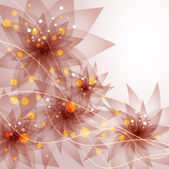 vector background with Flower 04