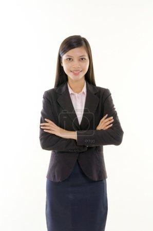 Asian malay girl in formal wear