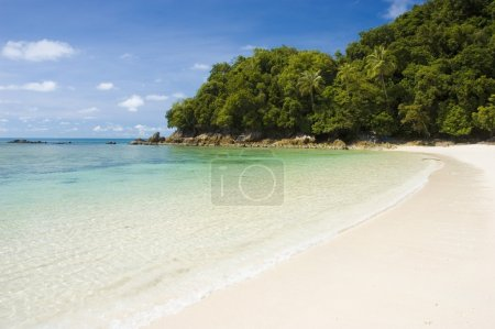 Photo for Blue beach in malaysia - Royalty Free Image